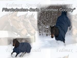 Regendecke und Winterdecke für Irish Sport Horse