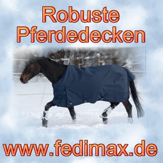 Regendecke mit Fleece für Quarter Horse