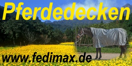 Pferdedecken - Landschaft