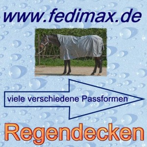 Regendecke für Deutsches Reitpony