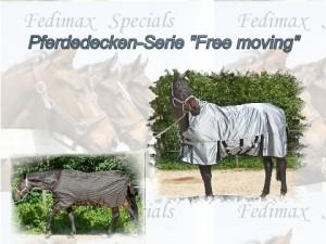 Leichte Regendecke und Regendecke mit Abschwitzfunktion für Quarter-Horses
